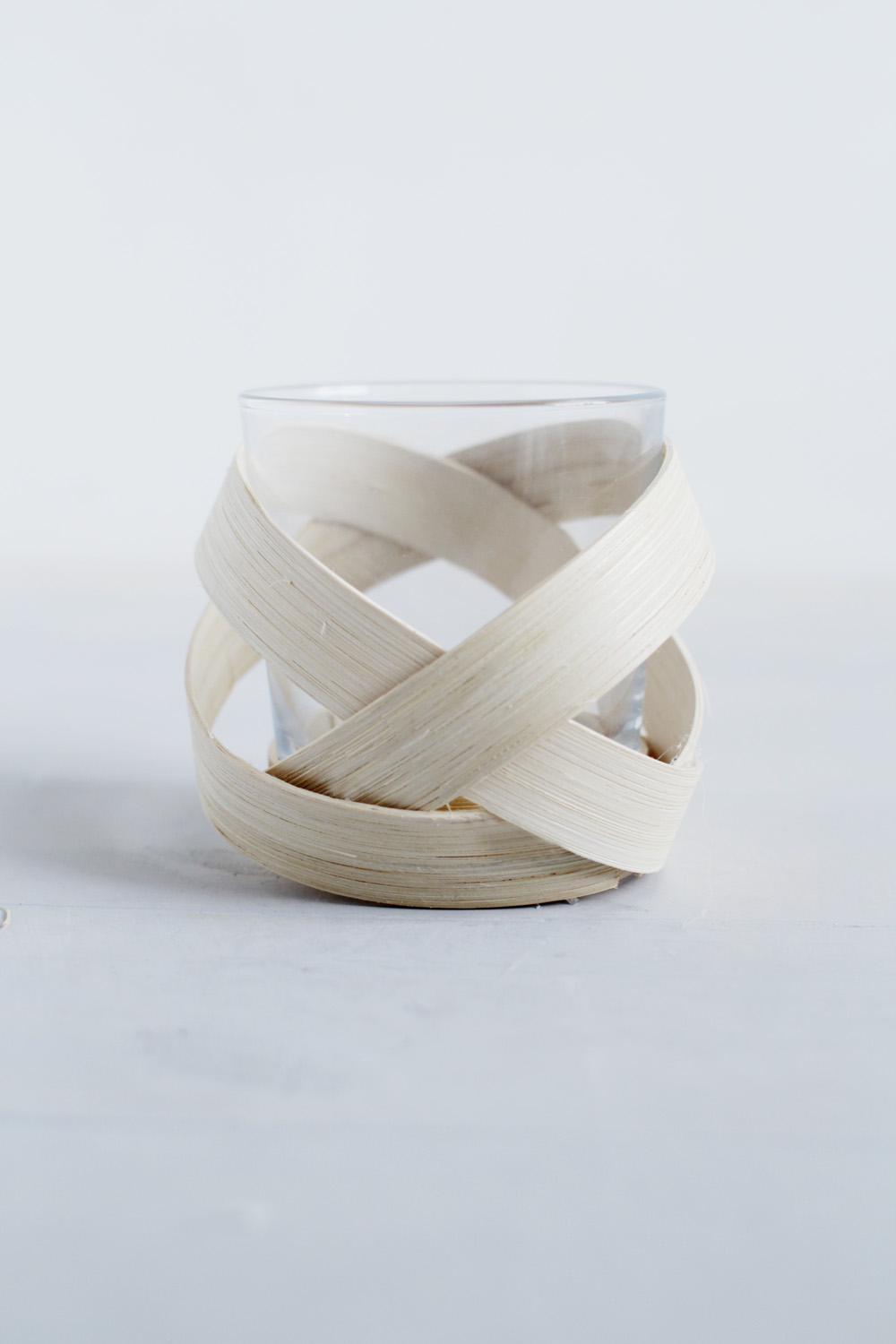 Homedit Wooden Strip Votive 8
