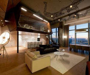 Penthouse Apartment In Moscow Looks Over The Entire City