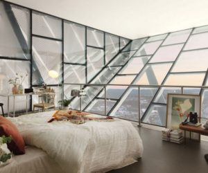 Luxury Penthouse Built At The Top Of A Ski Jump Tower