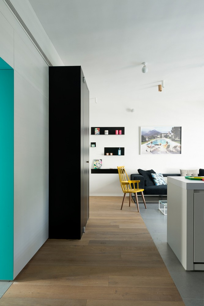 Tel-Aviv-apartment-black-cube-extension