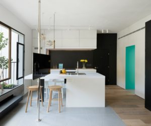 Interesting Layout And Lots Of Smart Features In A Small Swedish - Apartment with a smart layout