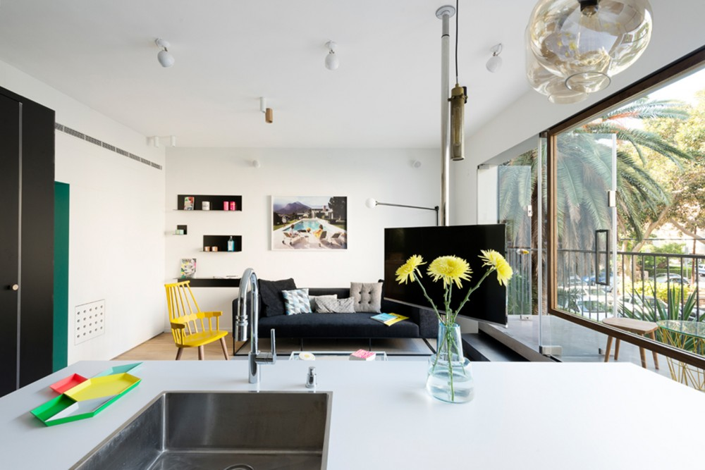 Smart TelAviv Apartment Improved With A New Layout - Apartment with a smart layout