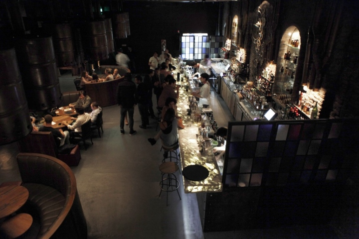 Victoria Brown Steampunk Bar Gives Industrial Style A