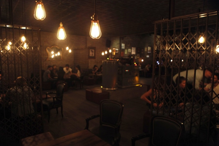 Victoria Brown Steampunk Bar Gives Industrial Style A Dashing Look