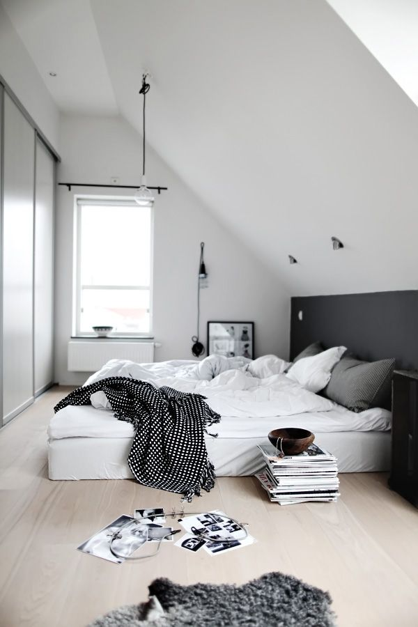 Ordinaire 35 Timeless Black And White Bedrooms That Know How To Stand Out