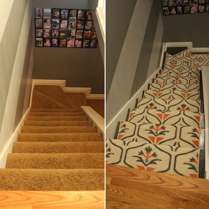 Superieur Update Your Staircase: How To Remove And Install Carpet On ...