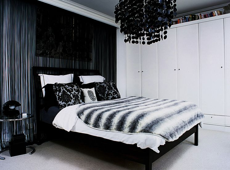 Timeless Black And White Bedrooms That Know How To Stand Out - Black and silver bedroom designs