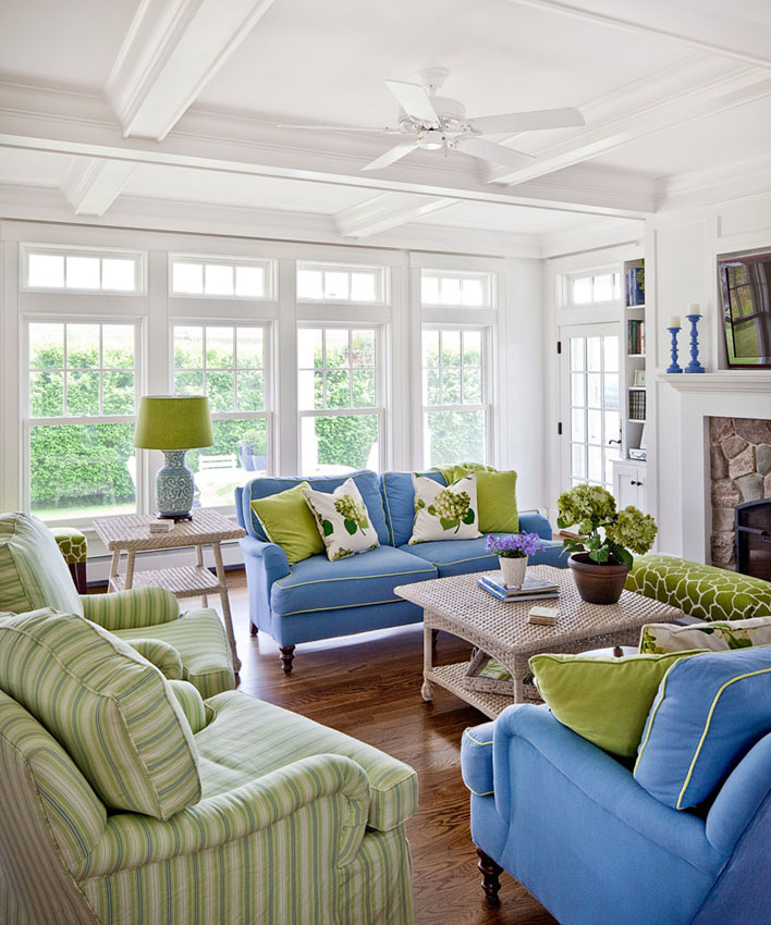 green and blue living room decor analogous color schemes what is it amp how to use it 26114