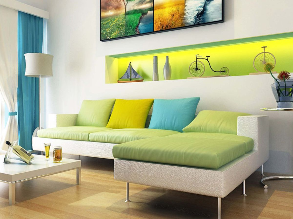 Analogous color schemes what is it how to use it - Interior home color combinations and contrast ...