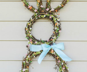 10 Darling Wreaths to Decorate Your Front Door for Easter