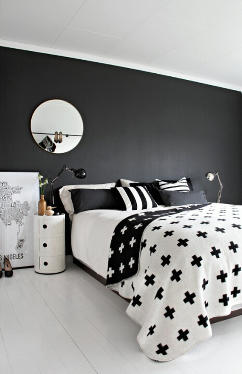 35 timeless black and white bedrooms that know how to 19810 | classy white and black bedroom
