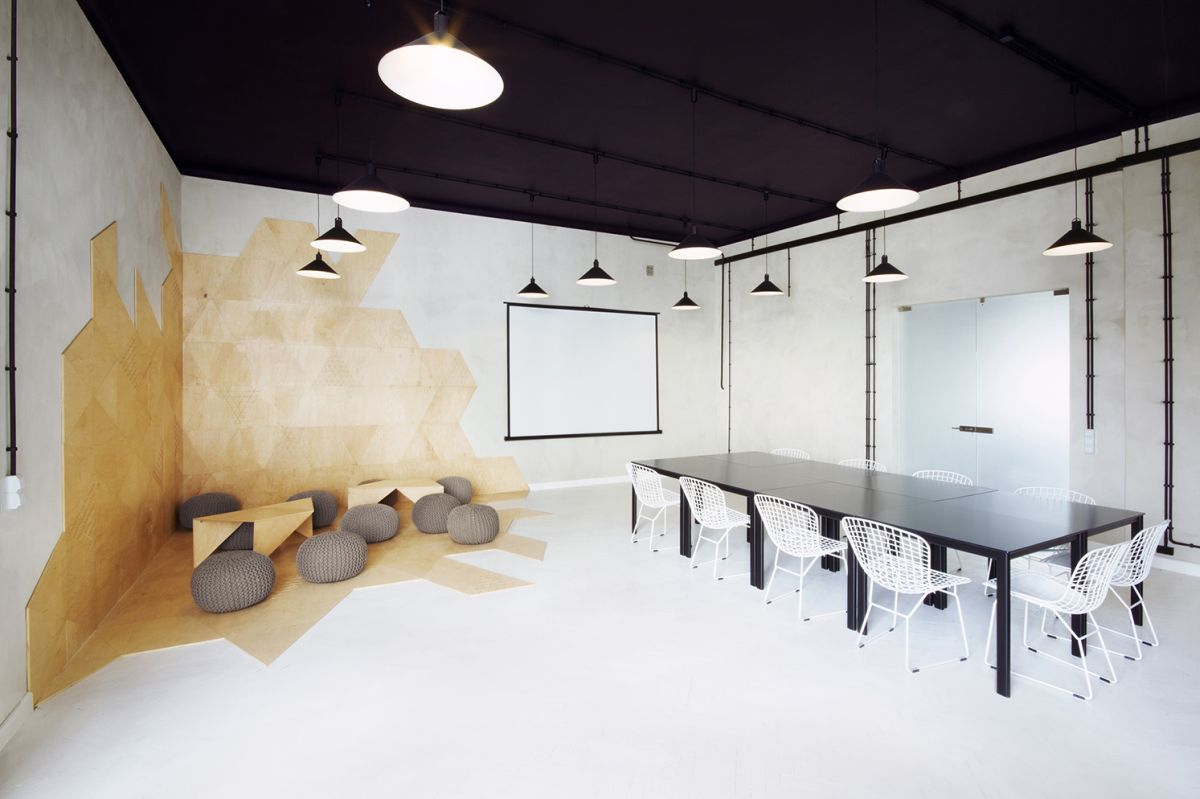 24 creative features that will improve productivity at the office - Room design pic ...