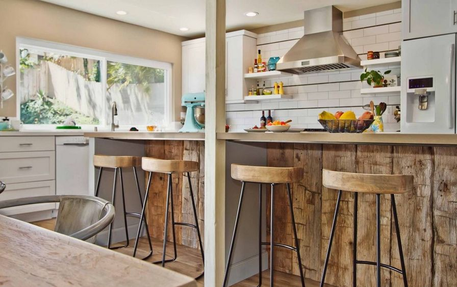 Guide To Choosing The Right Kitchen Counter Stools : counter kitchen bar stool wood top from www.homedit.com size 896 x 563 jpeg 87kB