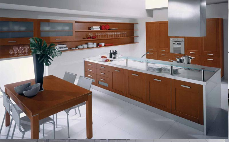 Modern Kitchen Furniture Design | Contemporary Kitchen Cabinets For A Posh And Sleek Finish