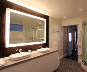 Rise and shine bathroom vanity lighting tips how to pick a modern bathroom mirror with lights aloadofball Choice Image