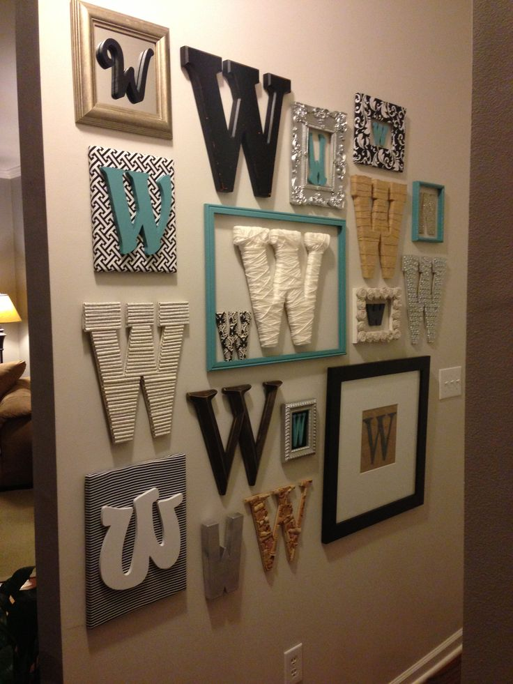 Letter On The Wall Decoration Prepossessing Stylish Monogrammed Wall Decor Decorating Design