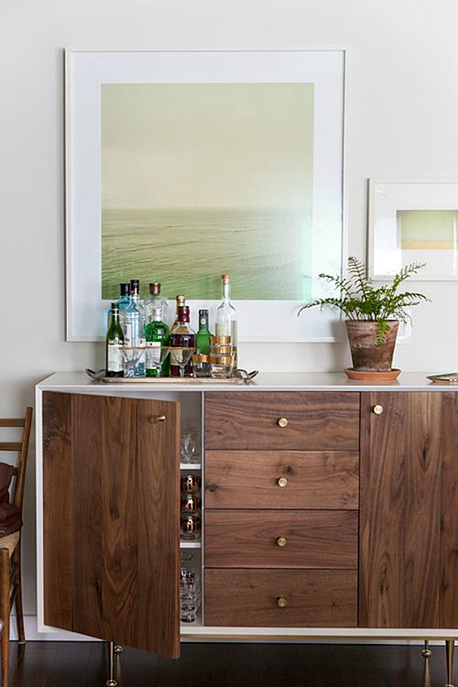 surprising modern living room credenza | 15 Modern Ways to Style Your Credenza