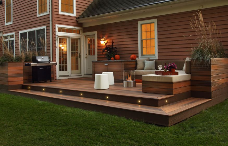 Deck lighting ideas that bring out the beauty of the space aloadofball