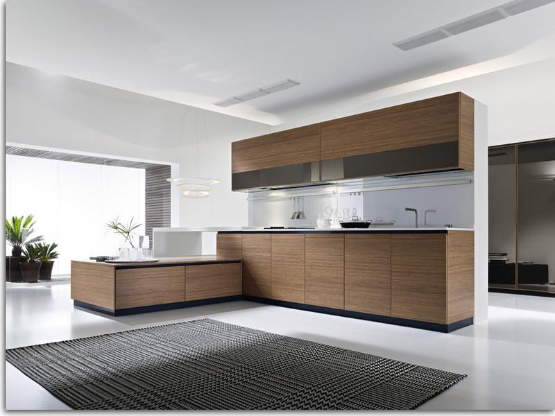 8 large spacious designs - Contemporary Kitchen Cabinets