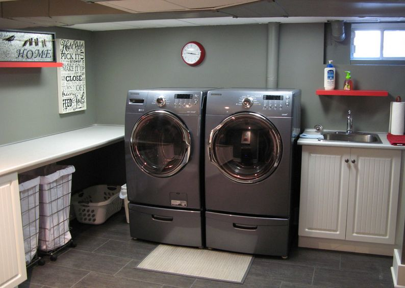 Industrial Laundry Room Part - 26: Home Decorating Trends U2013 Homedit