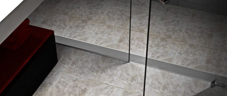 View In Gallery. You Can Consider The Linear Drain ...