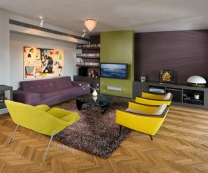 Triadic Color Scheme Room triad colors in contemporary interior design