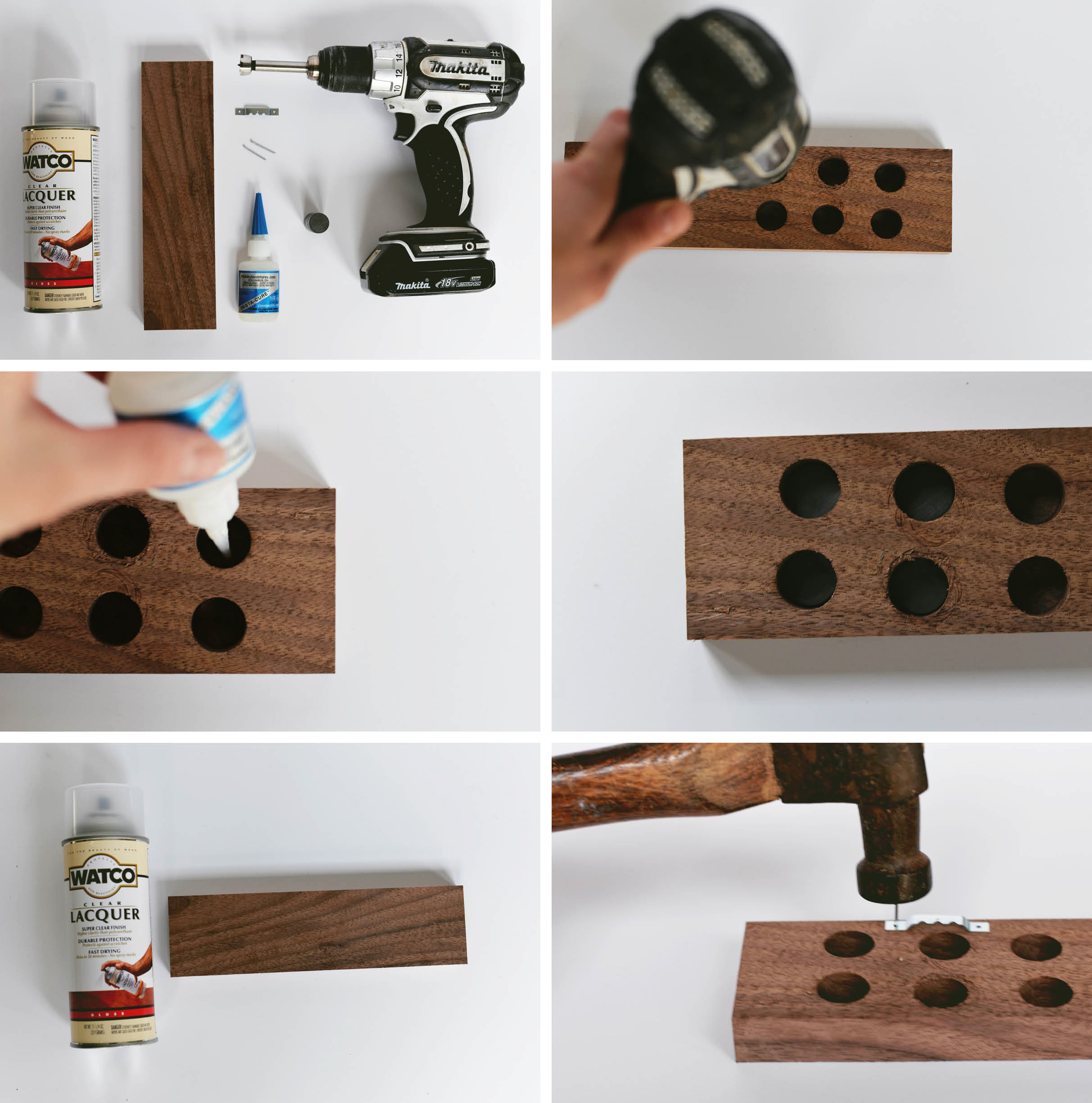 diy magnetic knife holder rh homedit com