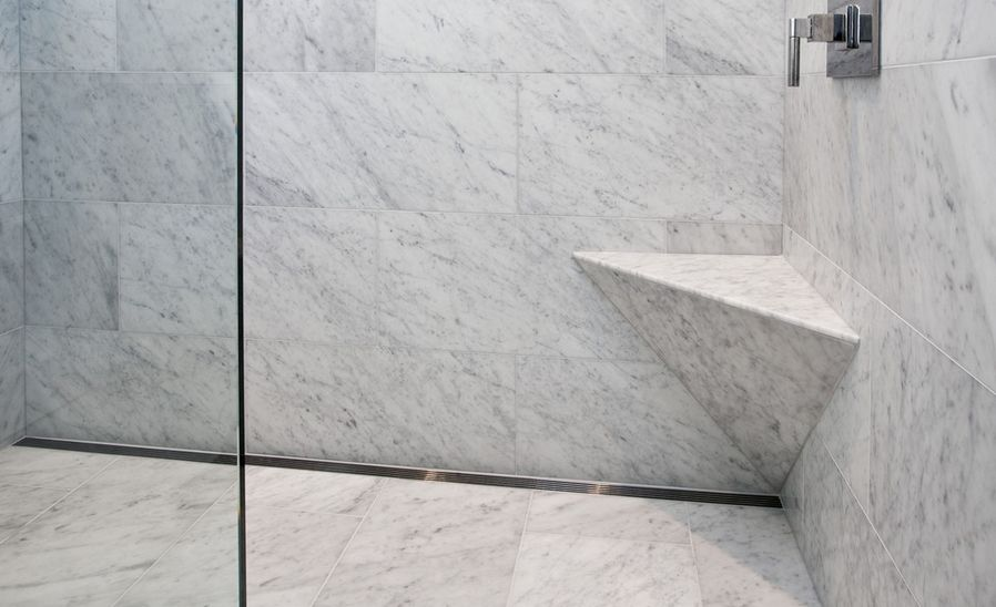 the defining characteristics of modern walk in showers