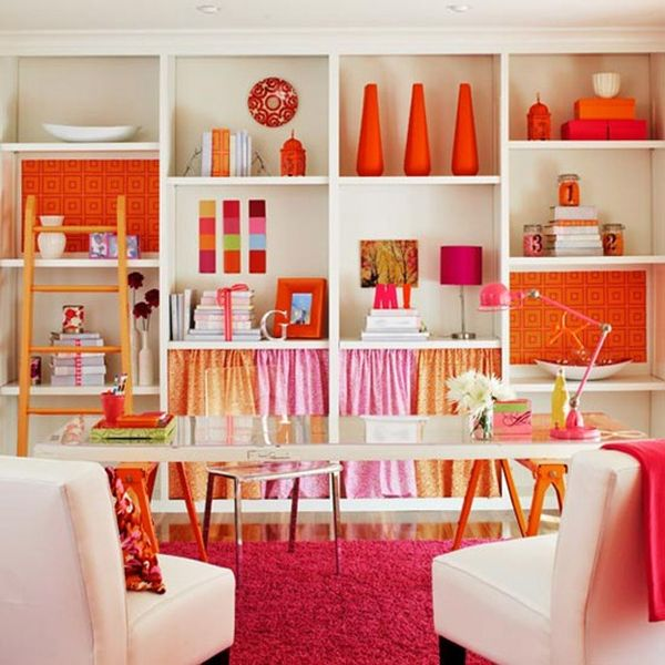 orange accessories for living room. 7  Overwhelming Life Orange Home Accessories For Every Room of the House