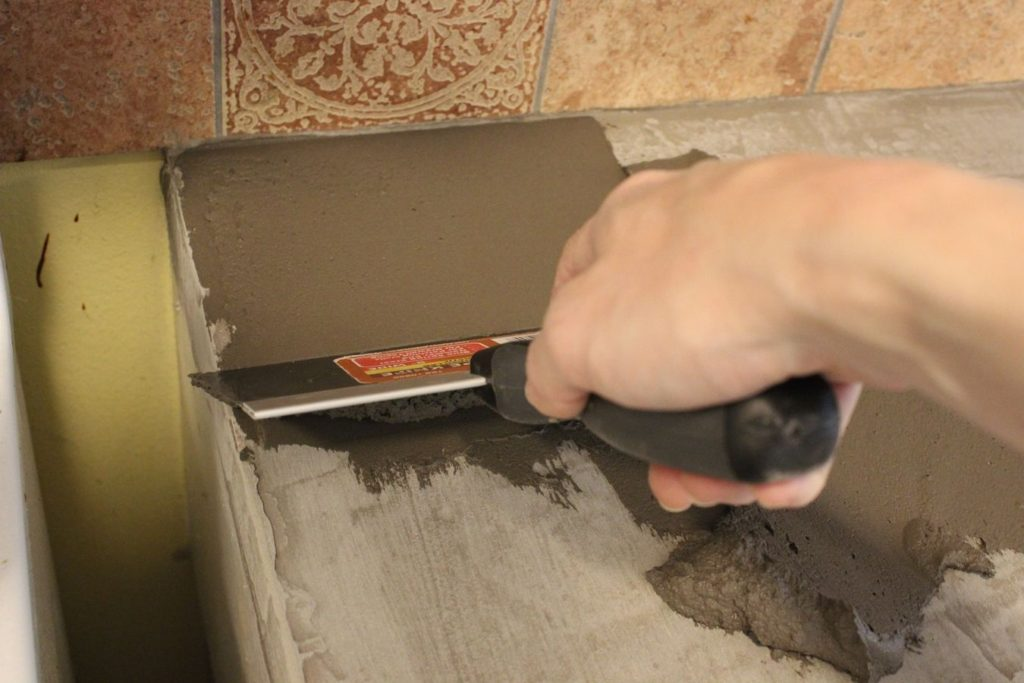 DIY Concrete Kitchen Countertops
