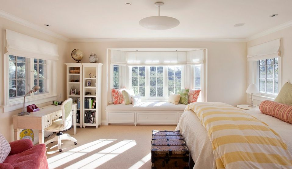 . How To Solve The Curtain Problem When You Have Bay Windows