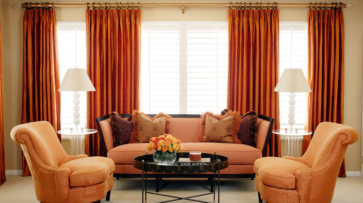 Colors that make orange and compliment its tones What color compliments brown furniture