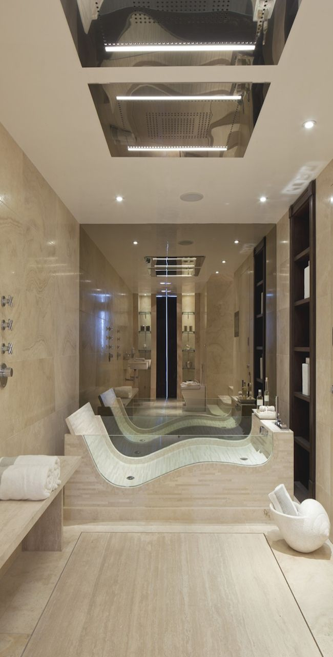 A Unique Tub, Shower Or Both.