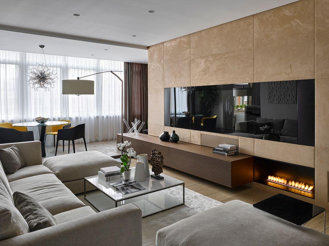 single-family-home-media-wall