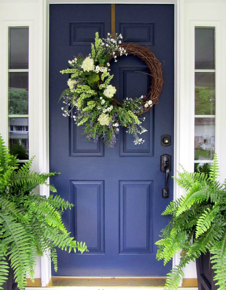 springy wreath