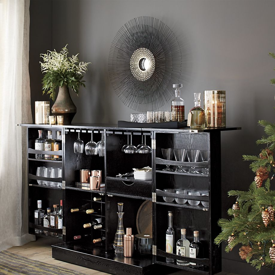 Mini bar furniture for stylish entertainment areas for How to build a mini bar cabinet