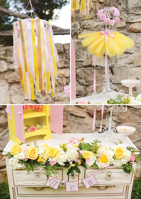 Belle Birthday Party Decorations Kara's Party Ideas Fairy Princess Magnificent Belle Party Decorations