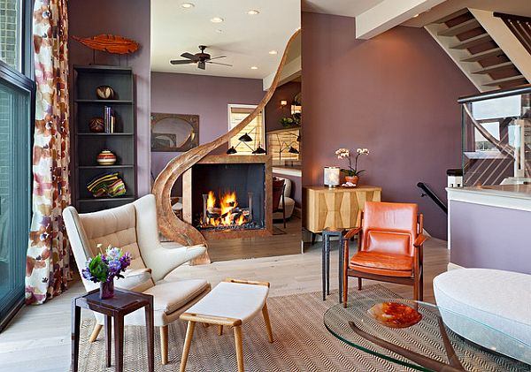 orange wall living room. View in gallery Orange Home Accessories For Every Room of the House