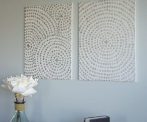 DIY Canvas Wall Art – A Low Cost Way To Add Art To Your Home