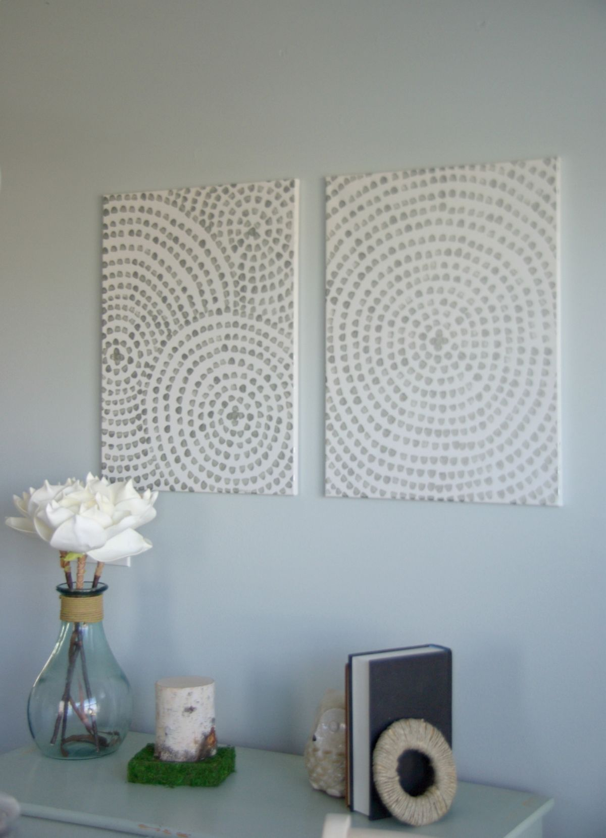 DIY Canvas Wall Art U2013 A Low Cost Way To Add Art To Your Home