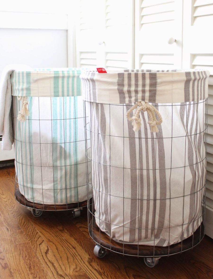 Laundry Baskets On Wheels