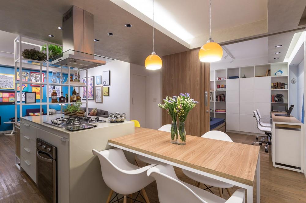 Brasil-aaprtment-kitchen-island-table