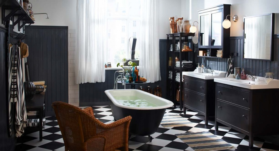 black white and grey bathrooms.  20 Functional Stylish Bathroom Tile Ideas