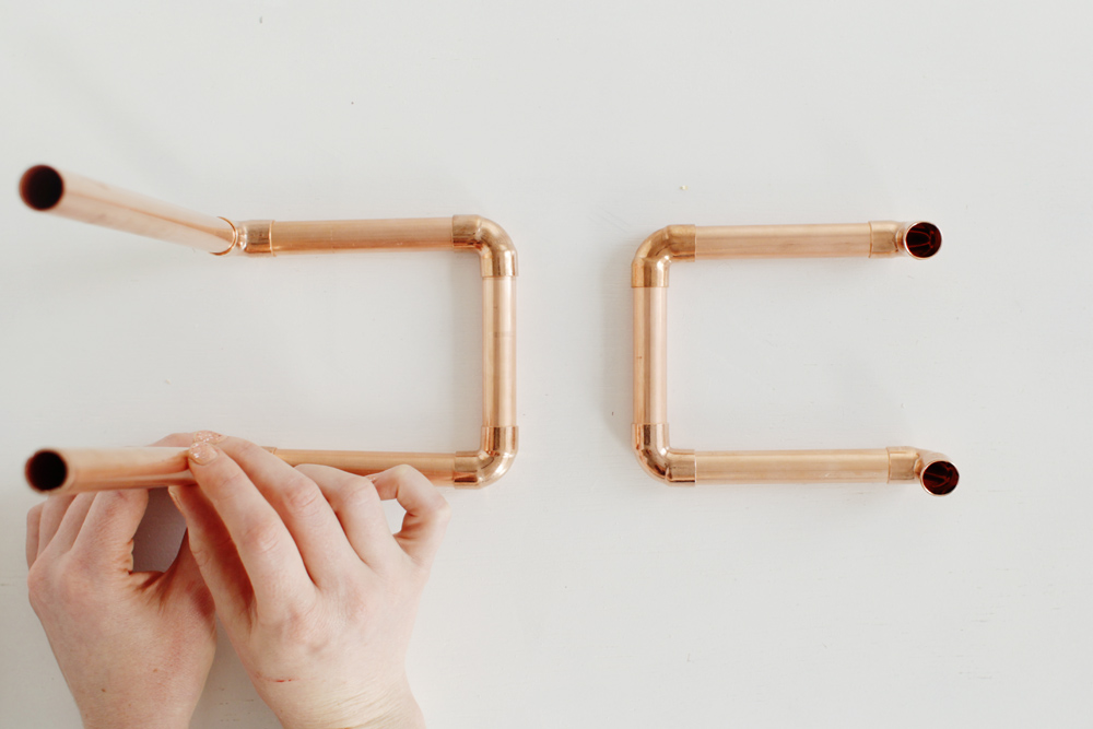 Copper Magazine Holder 10