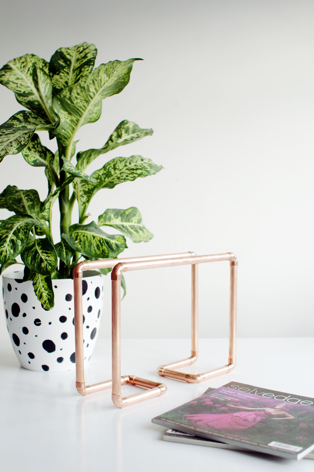 Copper Magazine Holder 17