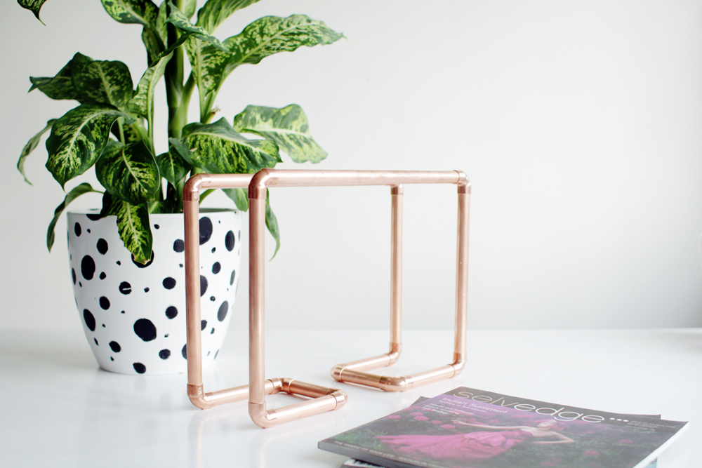 Copper Magazine Holder 18