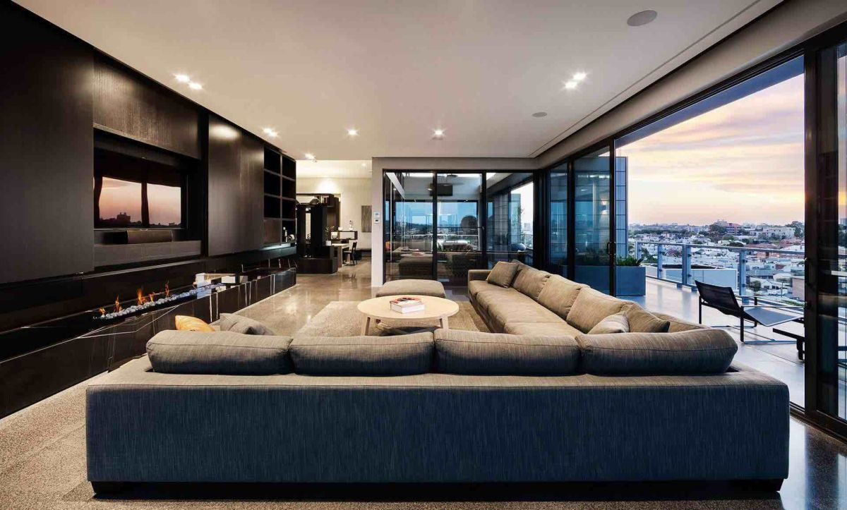 51 modern living room design from talented architects for Modern apartment living room
