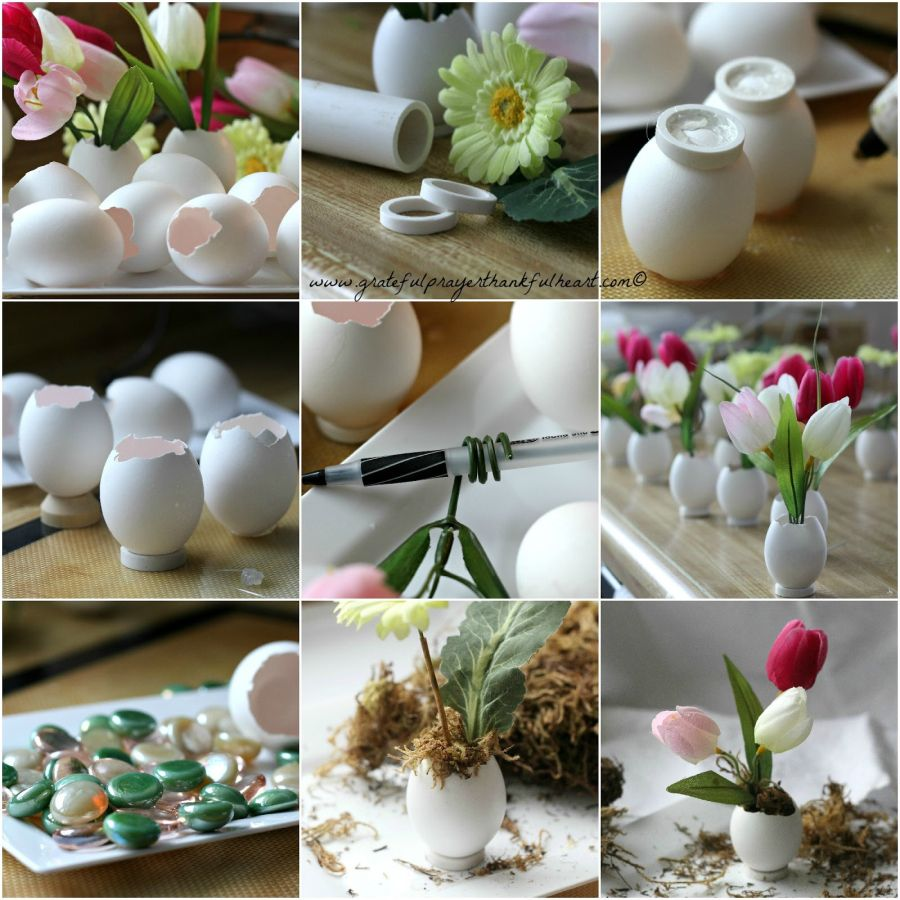 Egg shell crafts with cute everyday appeal home decorating trends homedit reviewsmspy
