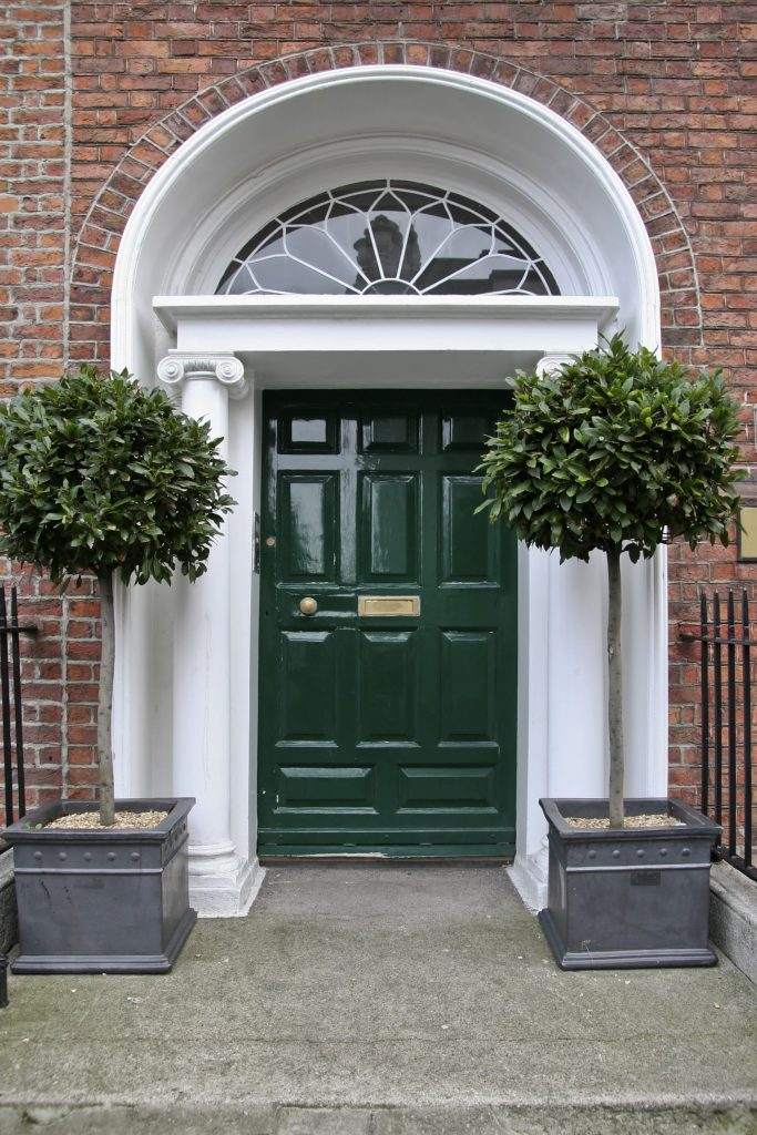 landscaping ideas Evergreens Entryway