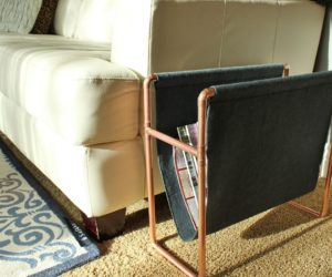 Chic DIY Copper Magazine Holder: How to Make this Surprisingly Easy Piece